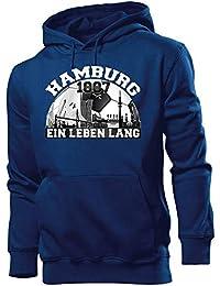 1887 Kapuzenshirt Hamburg Fußball