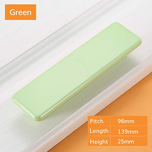 Mobili//armadio//cassetto maniglie in alluminio addensare moderna minimalista eloxie Rung Mobili Maniglie