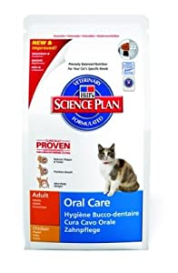 Hills Cat Food Oral Care Adult Dry 250g