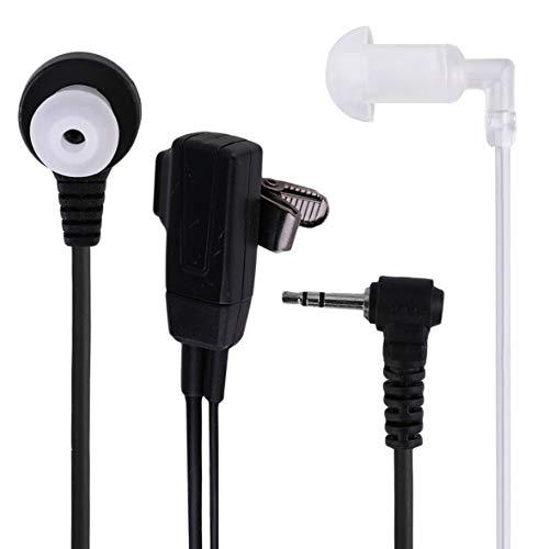 Heaviesk 1 Pin Covert Acoustic Tube Hörer-Headset für Motorola Talkabout 2 Funkgerät Funksprechgerät GP88 GP300 GP308 -