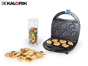Team-kalorik-group tKG sWM 1001 bL 4 en 1 appareil à croque-monsieur, gaufres, gril, keksbäcker