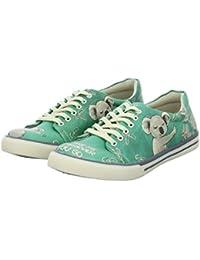 Damen Dogo Shoes Dogo Shoes Koala Stiefel grün
