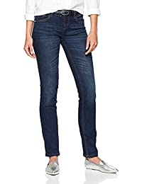 TOM TAILOR Damen Straight Jeans Carrie in Cleaner Optik eb017be42f