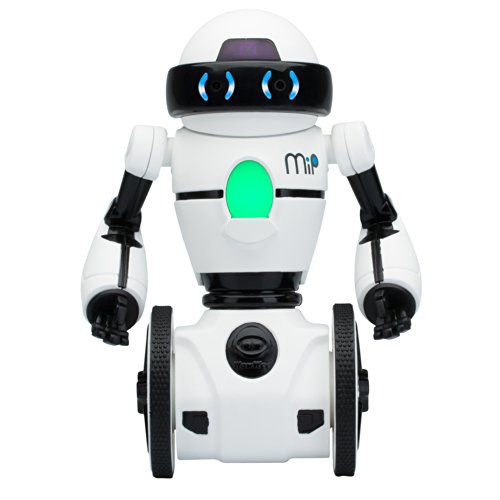 41YHc8QpEsL - WowWee - Robot MiP, color blanco (0821)