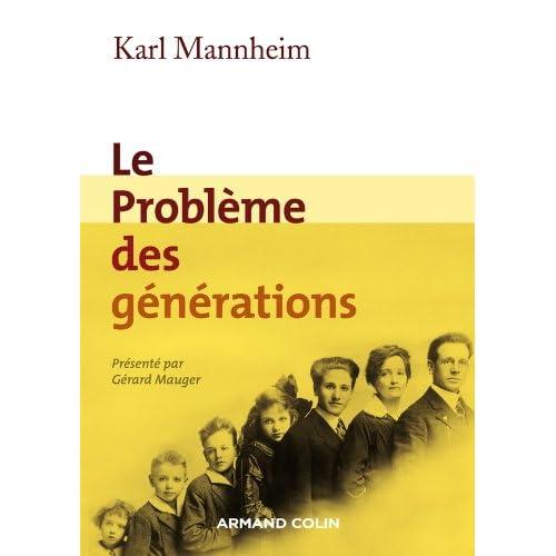 Le problème des générations