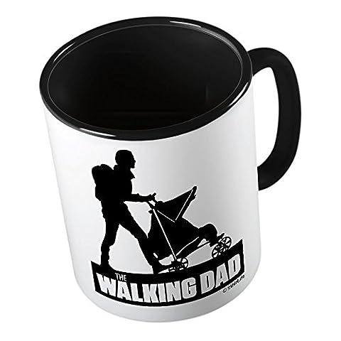Walking Dad ★ Tasse amusante – Grande tasse à café – Tasse à thé ★ imprimé de haute qualité et slogan amusant ★ Le cadeau parfait en toute occasion