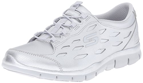 Skechers Sport Gratis Hit It Big Fashion Sneaker Silver
