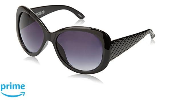 Ocean Sunglasses Brasil - lunettes de soleil polarisées - Monture : Noir Laqué - Verres : Fumée (18250.1) zHbkafJCk
