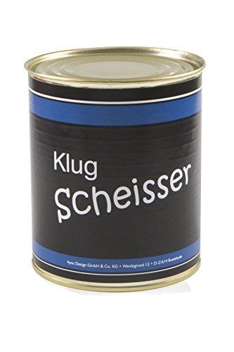 Preisvergleich Produktbild Klugscheisser aus der Dose - Wichtelgeschenk - Nikolausgeschenk - Spaßgeschenk - Geburtagsgeschenk - Weihnachtsgeschenk - Scherzartikel