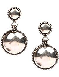 Sangeeta Boochra Silver Jhumki Earrings for Women (sce-8236)