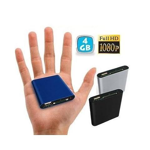 Mini passerelle multimédia Full HD 1080p HDMI TV USB SD disque dur 4Go