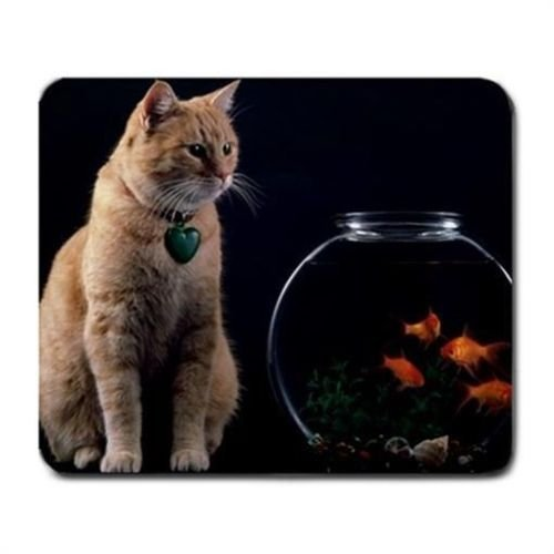 cat-and-bowl-of-goldfish-mouse-mat-pad-mousepad
