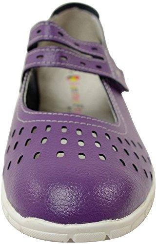 Absolute Footwear, Mocassini donna Plum
