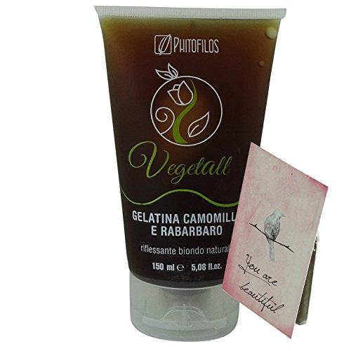 Phitofilos Vegetall Gelatina Riflessante Biondo Camomilla e Rabarbaro + Trattamento Yumi Incluso