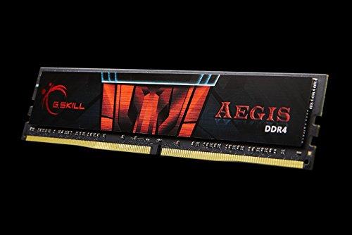 G. Skill 8GB DDR4–24008GB DDR42400MHz Memory Module–Memory Modul (DDR4, PC/Server, 288-PIN DIMM, 2x 4GB, Dual, Black, Red)