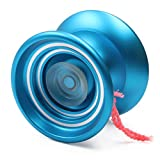 Responsive MAGIC YOYO K7 Aluminum Yo-yos Ball for Beginners with Bag+ Glove+ 5