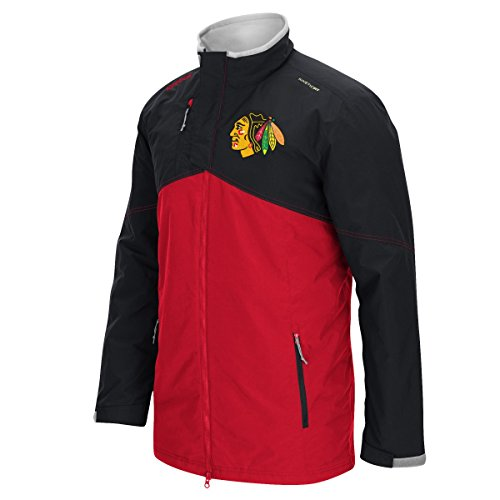 Chicago Blackhawks Reebok 2015 Center Ice Full Zip Premium Midweight Jacket