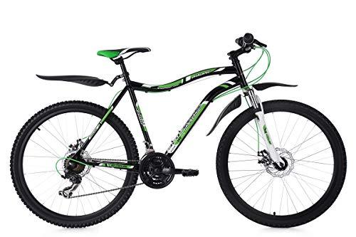 KS Cycling Mountainbike Fully 26'' Phalanx schwarz-weiß-grün RH 51 cm Fahrrad