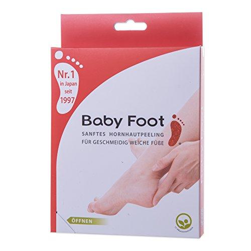 Baby Foot, sanftes Hornhautpeeling, 2 Foliensocken, Deutsche Beschreibung (Baby-fuß-peeling)