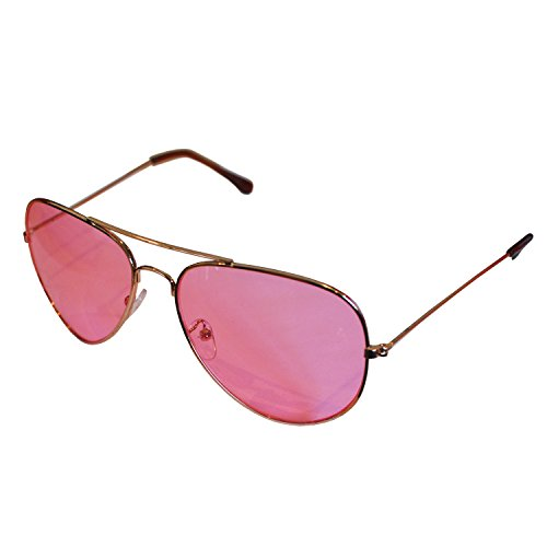 Sunglasses Rosa Linsen Retro with Pink Lenses