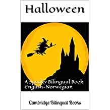 Halloween: A Spooky Bilingual Book English-Norwegian (Norwegian Edition)