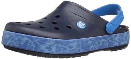 crocs Unisex-Erwachsene Cbndgrphcclg Clogs, Blau (Navy), 36-37 EU
