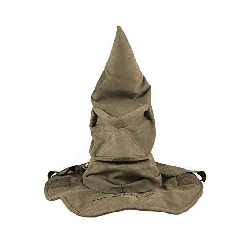Harry Hat Kostüm Potter - HARRY POTTER Interaktiver Sprechender Hut Replika Standard
