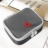 Outdoor Sport Medical Bag Mini Tragbare Erste-Hilfe-Kit Multifunktions-Pack Notüberlebens Leere Tasche Für Reise Camping - Grau