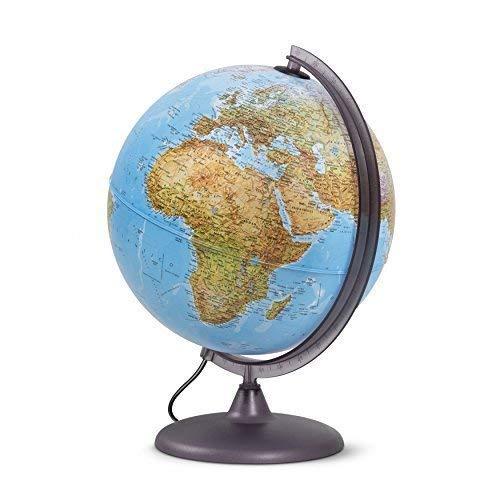 Globo luminoso per studenti, diametro 30cm, cartografia...