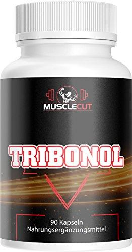 TRIBONOL Muskelaufbau I 90 Kapseln mit L-Arginin, L-Citrullin, Maca Pulver, Zink I Aminosäure
