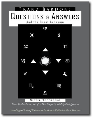Franz Bardon: Questions And Answers And The Arcanum by Dieter Rueggeberg (1-Nov-2009) Paperback