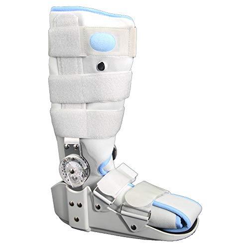 XIHAA Rebound Air Walker Boot, Einstellbare Aufblasbare Knöchel, Support Schuhe Schutz Für Fraktur Fibula Ligament Schaden, Schutz und Heilung Nach Fuß-Oder Knöchelverletzungen,M -