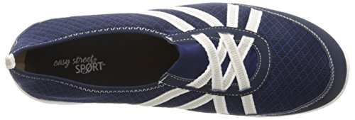 Easy Street Kila Femmes Large Toile Baskets Navy
