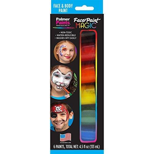 palmerpalmer visage et corps Set de peinture, d'autres, multicolore