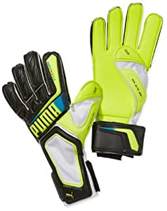 PUMA evospeed 3.2 gants de gardien de but 10,5 Noir - Noir/fluo/jaune/blanc/bleu brillant