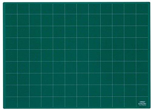Olfa NCM – Plaques de coupe de 3 mm d'épaisseur, vert (62 x 45 cm)
