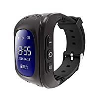 Smart watch Phone with GPS Tracker for Kids Boys Girls Children Fitness Tracker with SIM Calls Anti-lost SOS Wristband Bracelet Wrist Watch Holiday Birthday Gifts