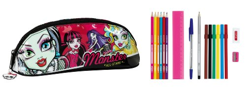 Monster High – Portatodo ovalado lleno (Safta 811343708)