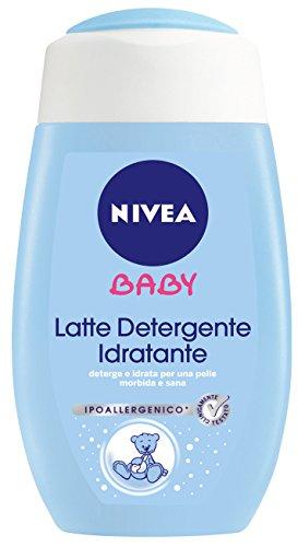 Nivea Baby Care & Cleansing Latte Detergente 200Ml