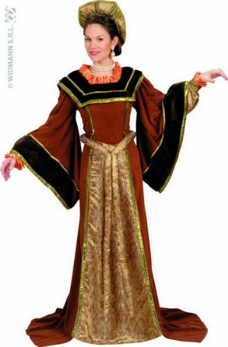 Unbekannt Aptafêtes-cs929053QS Tudor Lady Kostüm-Gr. M
