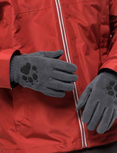 Jack Wolfskin Damen Handschuhe Paw, grey heather, M, 19615-6110003 - 2