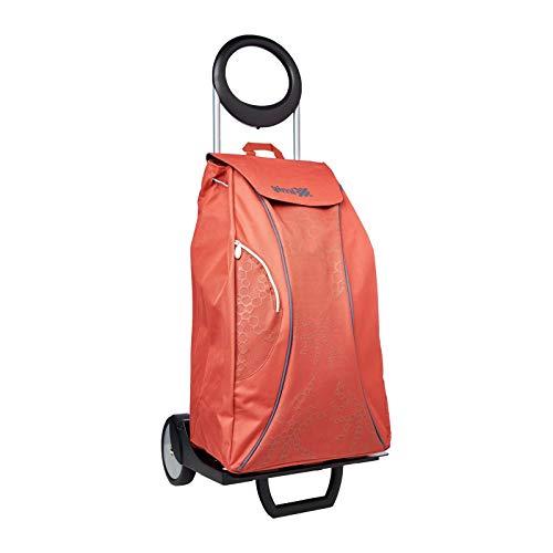 Gimi Easy Rot Einkaufstrolley