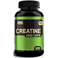 OPTIMUM CREATINE 2500 300 CAPS - MUSCLE GROWTH STRENGTH