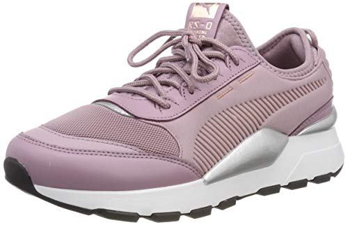 Puma RS-0 Trophy, Zapatillas Unisex Adulto, Morado (Elderberry White), 36 EU
