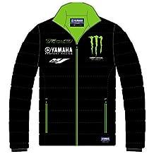 Monster Tech3–Chaqueta plumífero para hombre, Hombre, DOUDOUNE, negro/verde, FR : ADULTE (Taille Fabricant : XS)