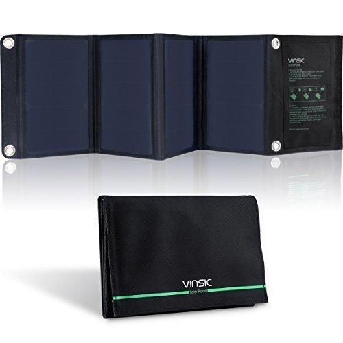 Panel Solar, Vinsic 22W Cargador Panel...
