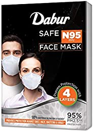 Dabur Safe N95 face mask | Provides protection against Dust , Haze and Bacteria