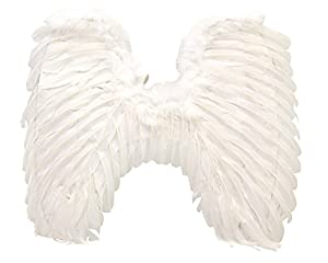 My Other Me Me - Alas de ángel adulto, talla única (Viving Costumes MOM01577)