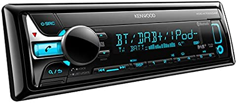 Kenwood KDCX7000DAB Digitalautoradio mit Bluetooth-Freisprecheinrichtung und Apple iPod-Steuerung schwarz
