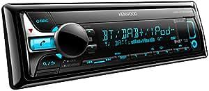 Kenwood KDC-X7000DAB Autoradios Bluetooth, En Façade